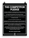 The Competitor Pledge (Poster)
