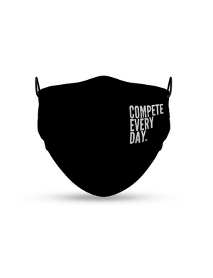 "Compete Every Day ""Classic"" Face Mask"