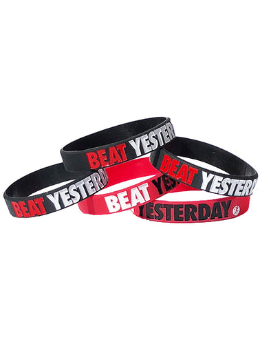 Beat Yesterday wristbands