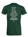 Keys to Life dark green youth shirt