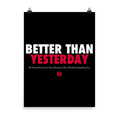Better Than Yesterday (Poster)