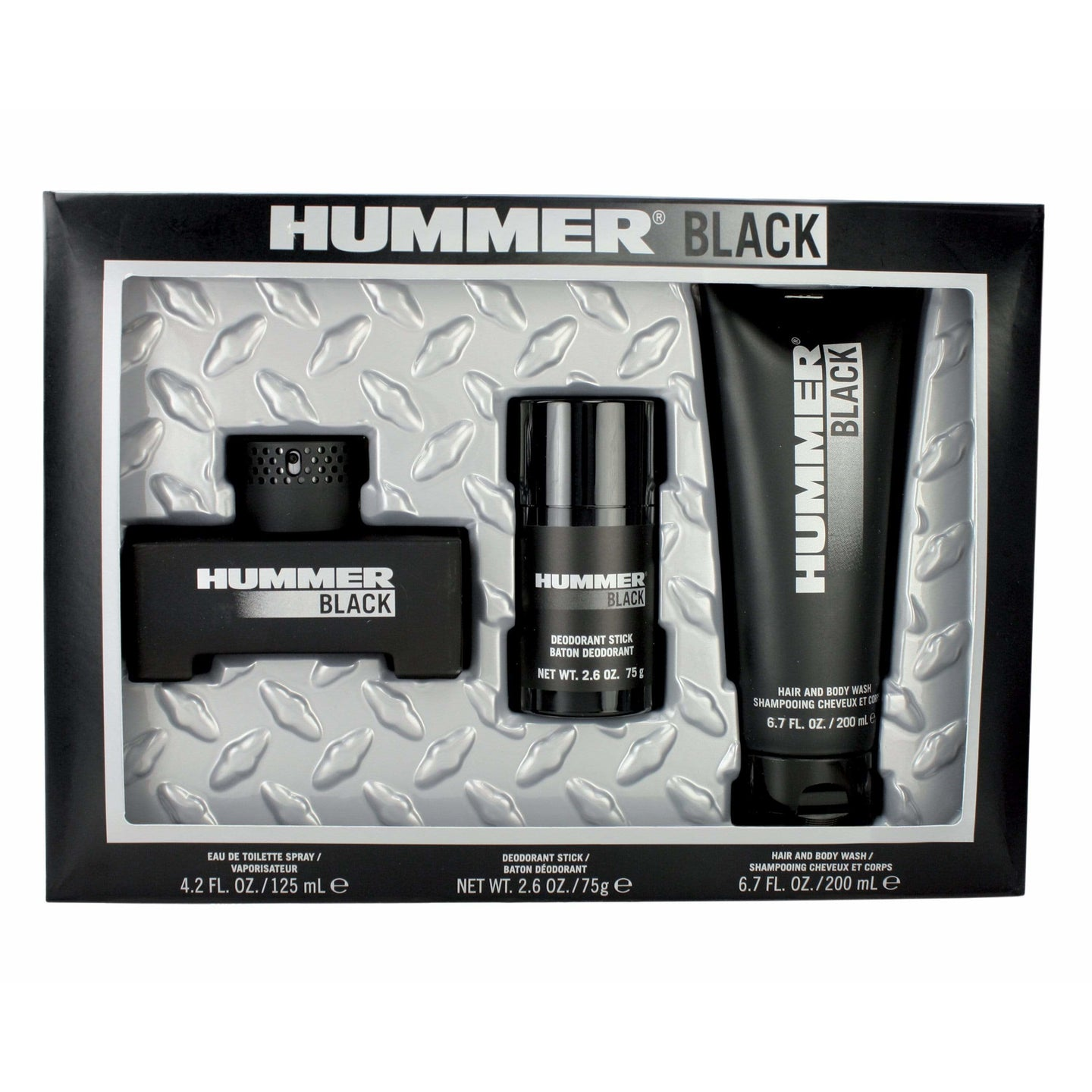 HUMMER BLACK 3 pc VALUE PACK