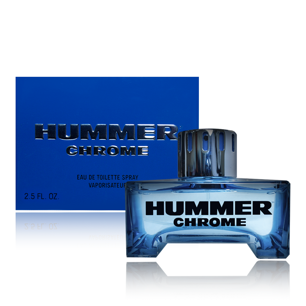 Hummer Chrome Cologne - Eau De Toilette