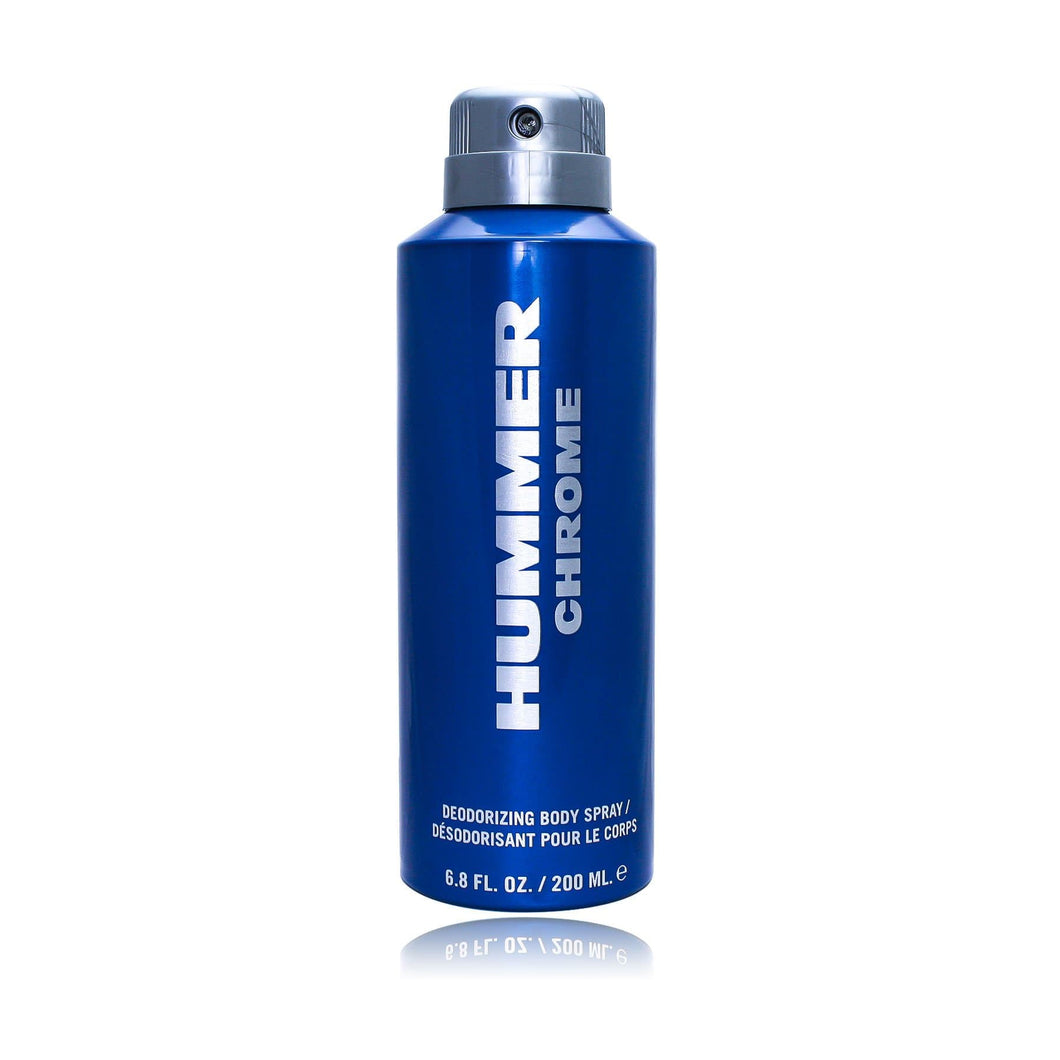 Hummer Chrome Deodorizing Body Spray