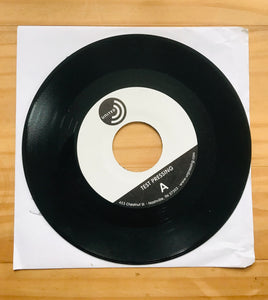 "Rare 7"" Test Pressings - Getchya Hip Thrust / Black Crow feat. BP Fallon"
