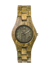 Criss Army Wood Watch