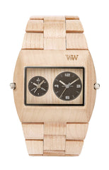 Jupiter RS Beige Wood Watch