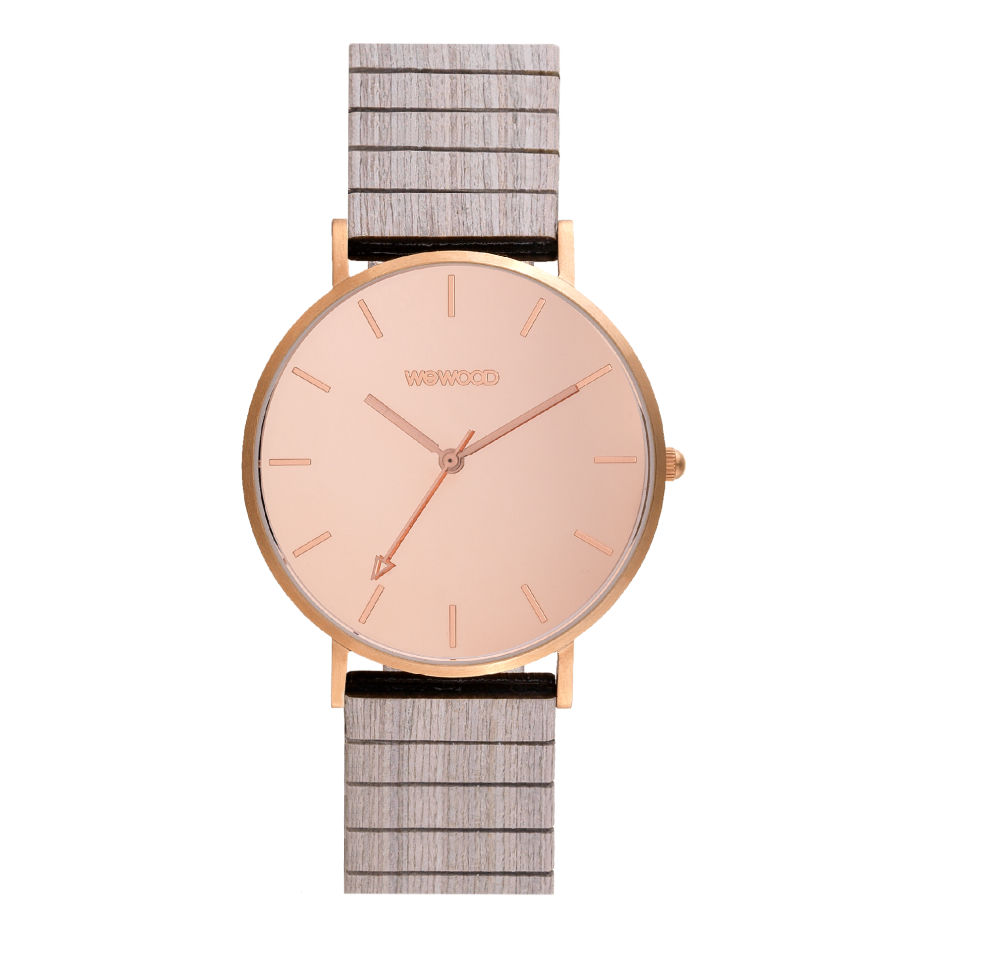 Aurora Mirror Wood Watch
