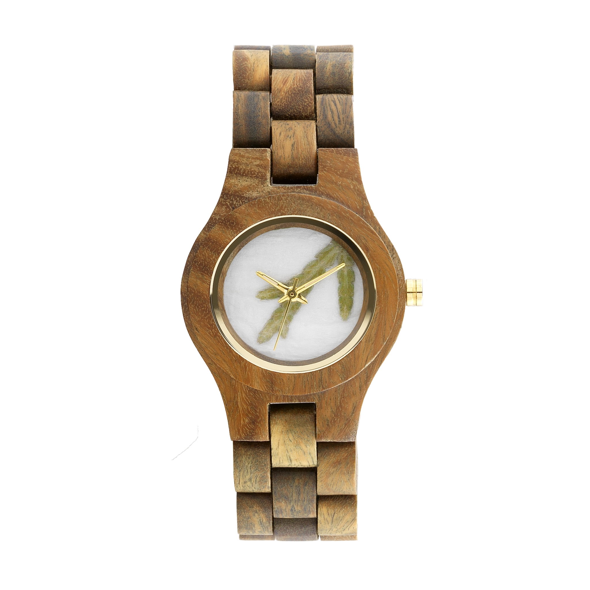 Criss Thuja Army Wood Watch