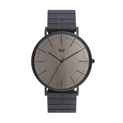 Horizon Mirror Wood Watch