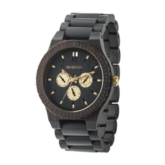 Kappa Black RO Ltd Wood Watch