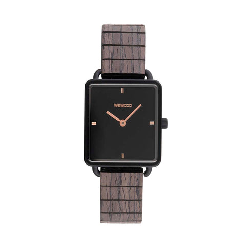 Leia Flex Wood Watch