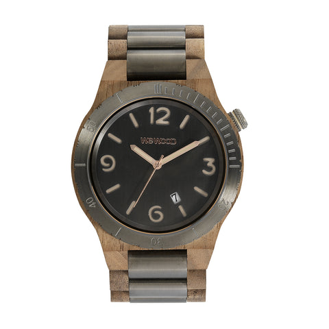 Alpha ME Wood Watch