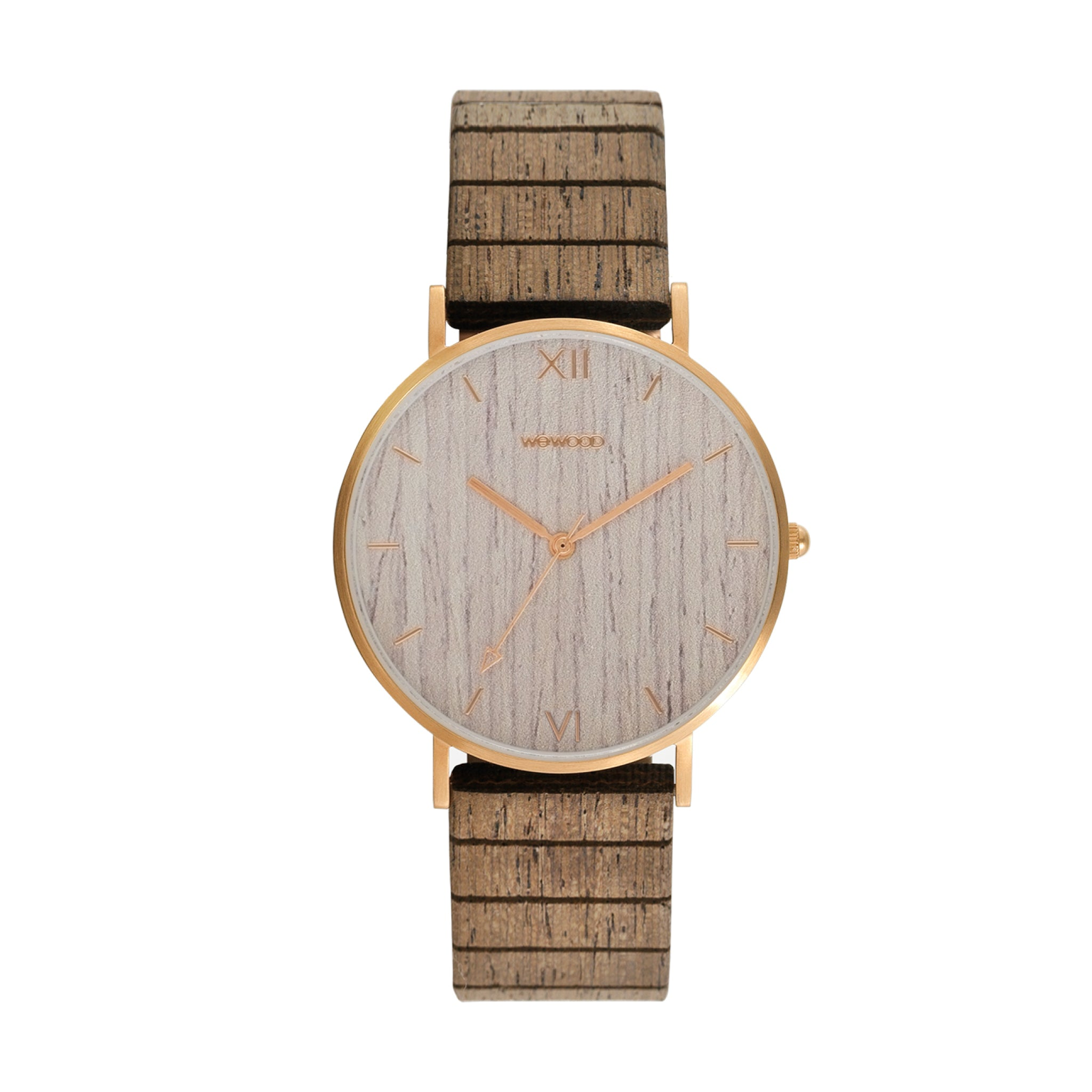 Aurora Wood Watch