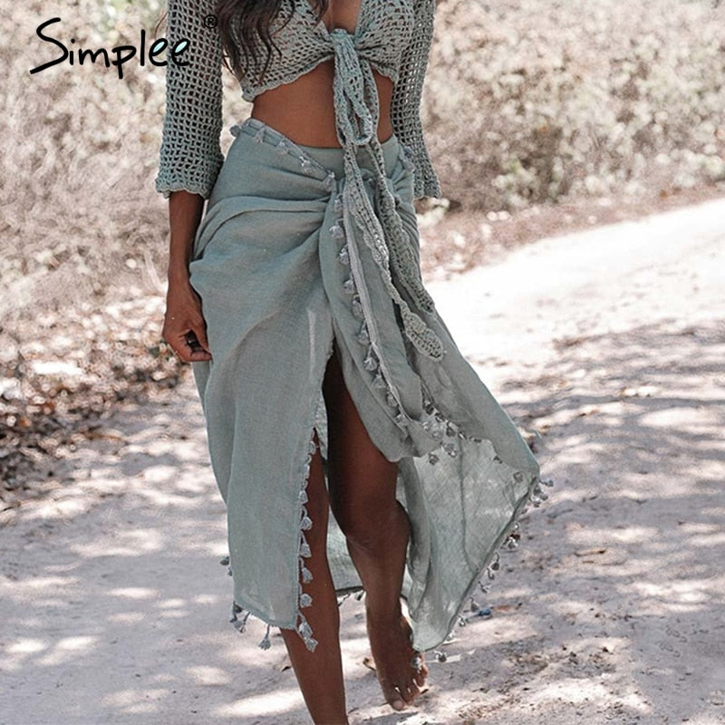 Sexy Boho Sarong shawl cover-ups Ibiza Summer 2019 beach wear