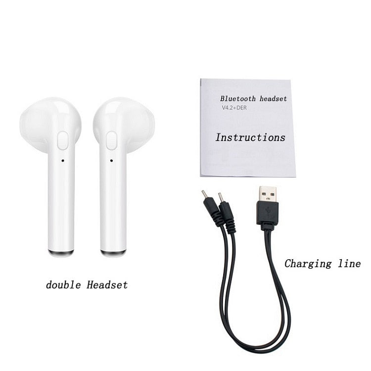 i7s Bluetooth wireless Earphone with mic