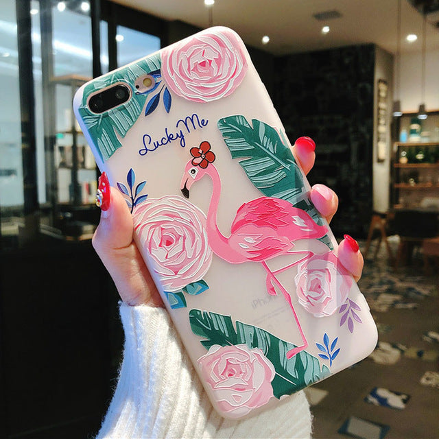 USLION Silicone Phone Case For iPhone