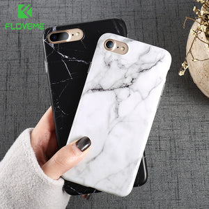 FLOVEME Marble Case For iPhone 6 6s 7 8 Plus