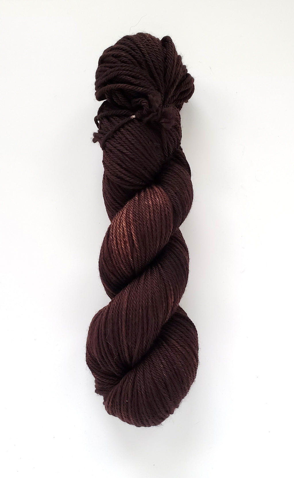 Anda Hand Dyed Yarn Semi Solid Brown