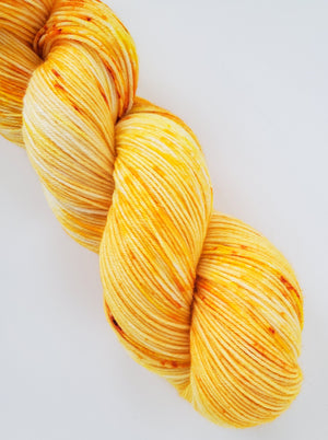 CLEARANCE Daisy Hand Dyed Yarn April Color of the Month