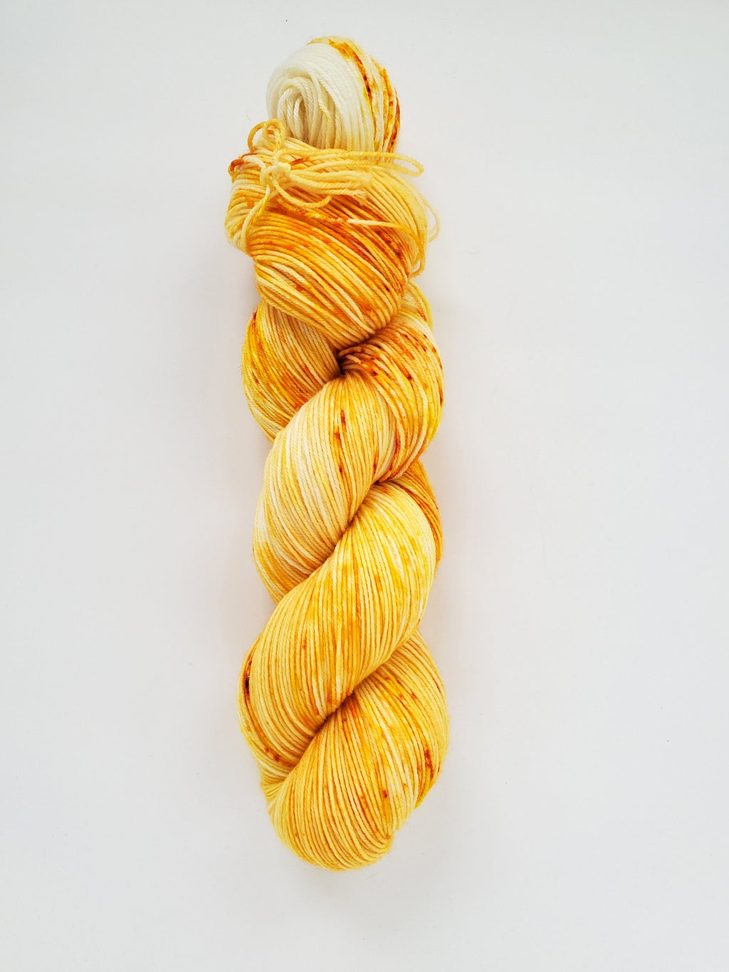 Daisy Hand Dyed Yarn April Color of the Month
