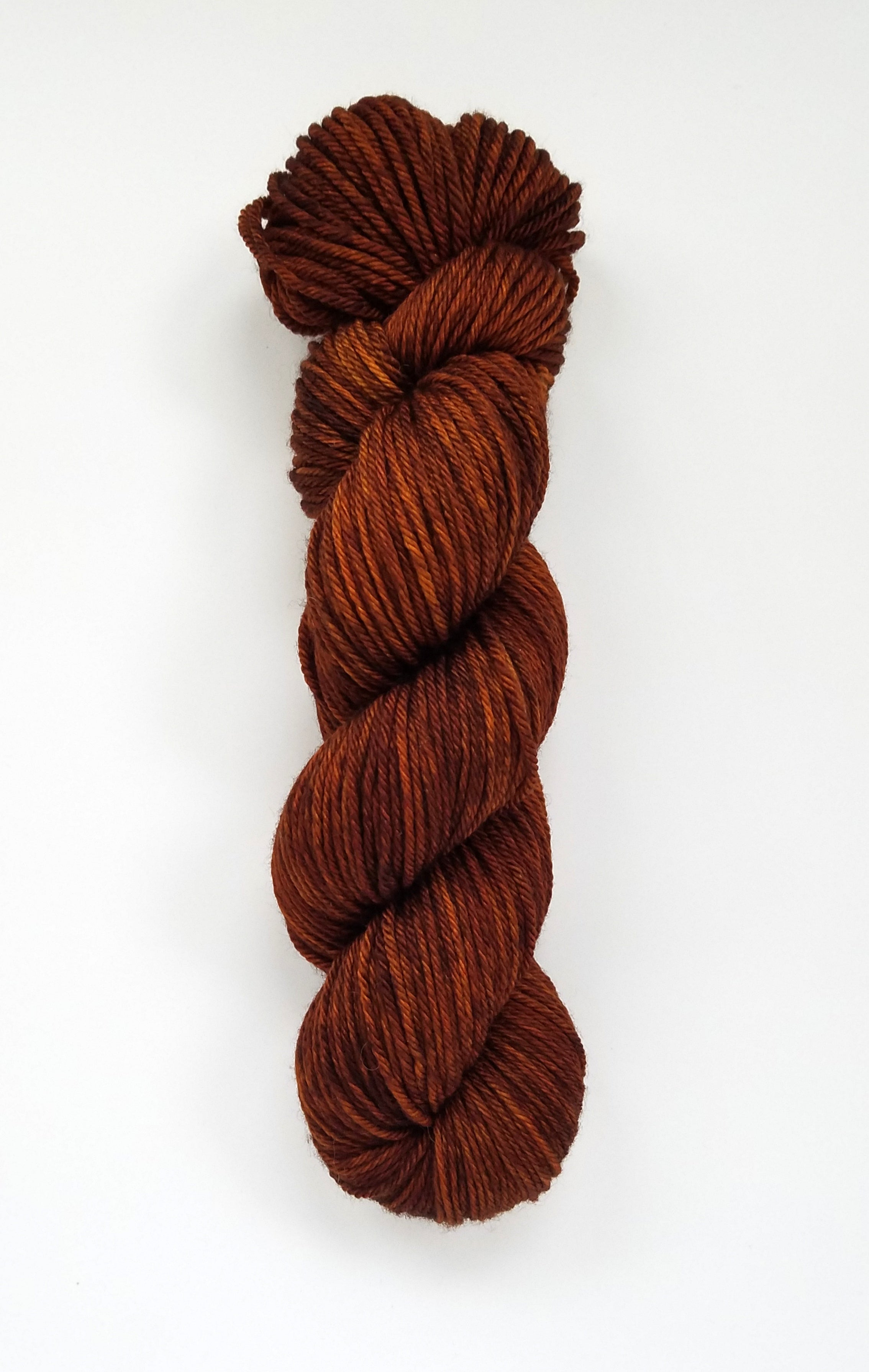 First Cup Hand Dyed Yarn Semi Solid Brown