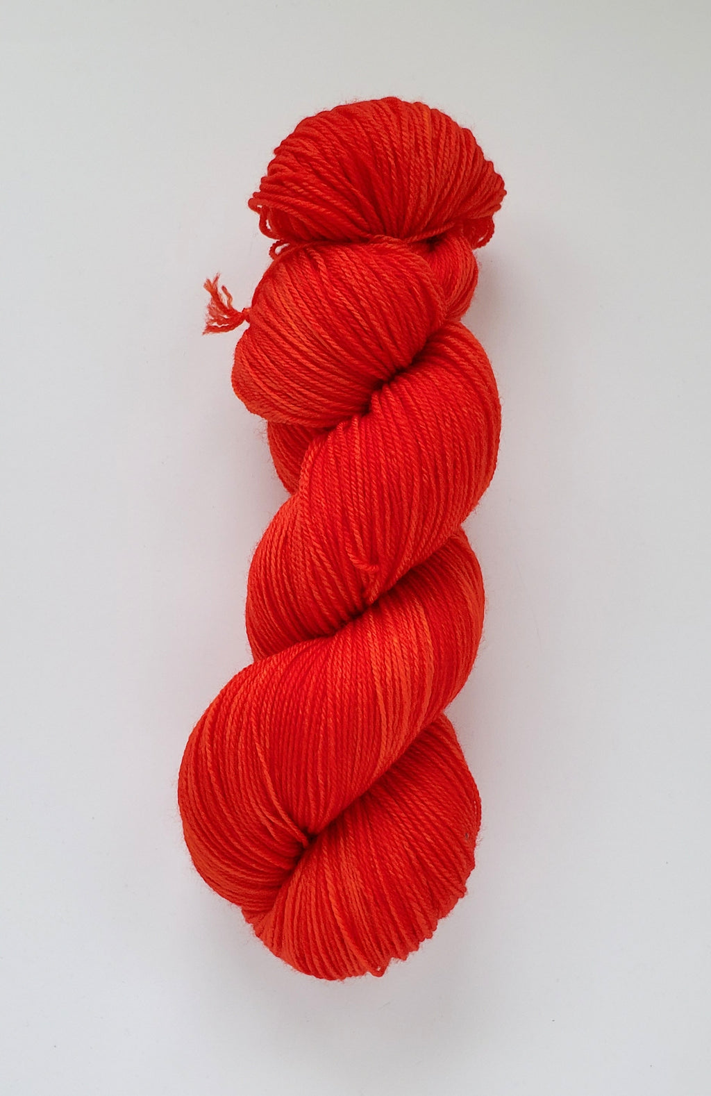 Joy Hand Dyed Yarn Semi Solid Orange