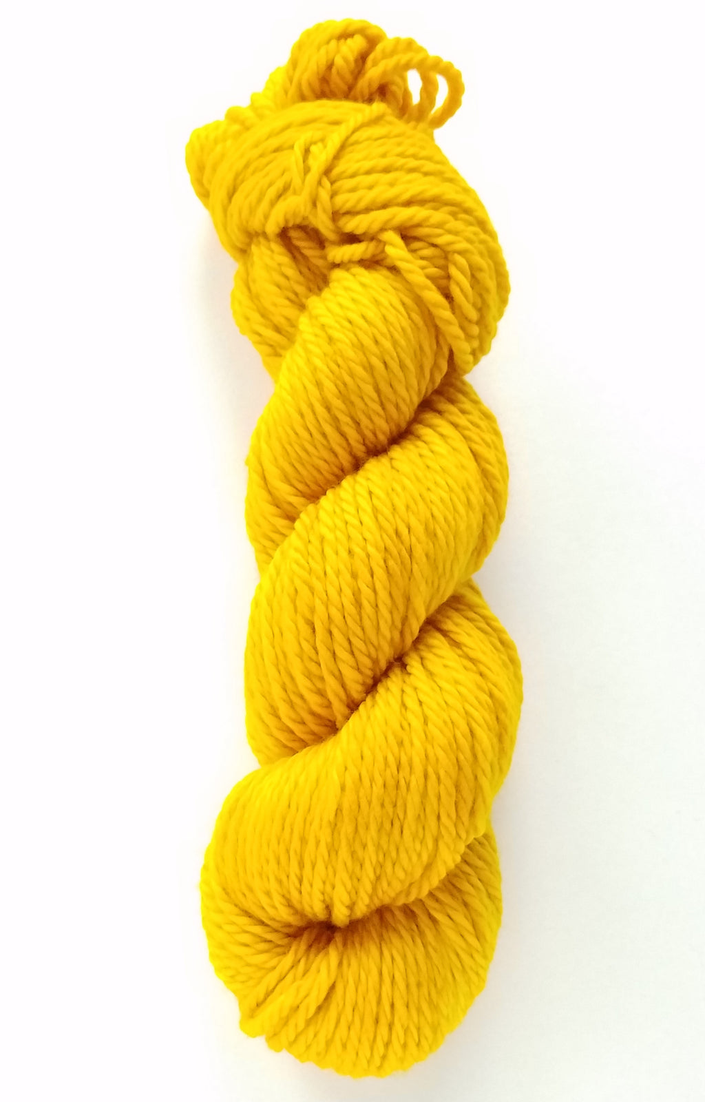 Mari Hand Dyed Yarn Semi Solid Yellow