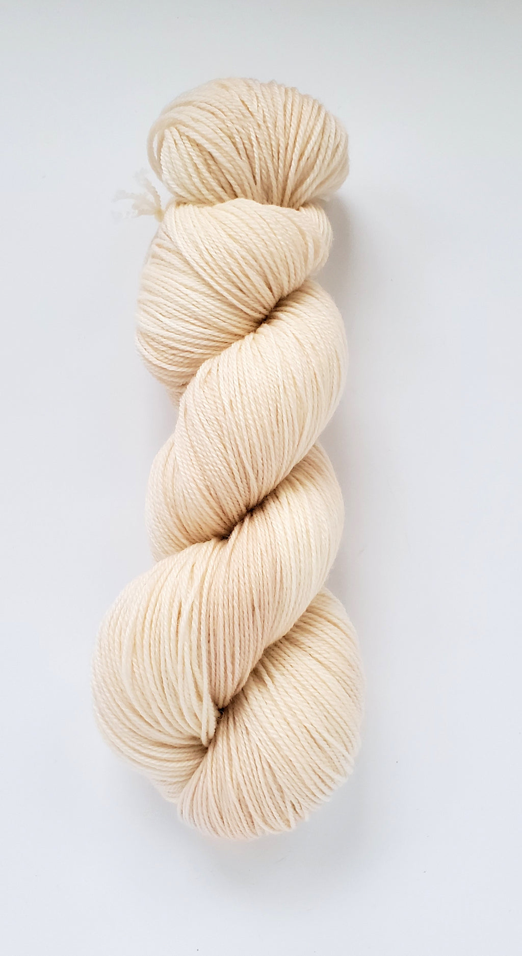 Paloma Hand Dyed Yarn Semi Solid Cream