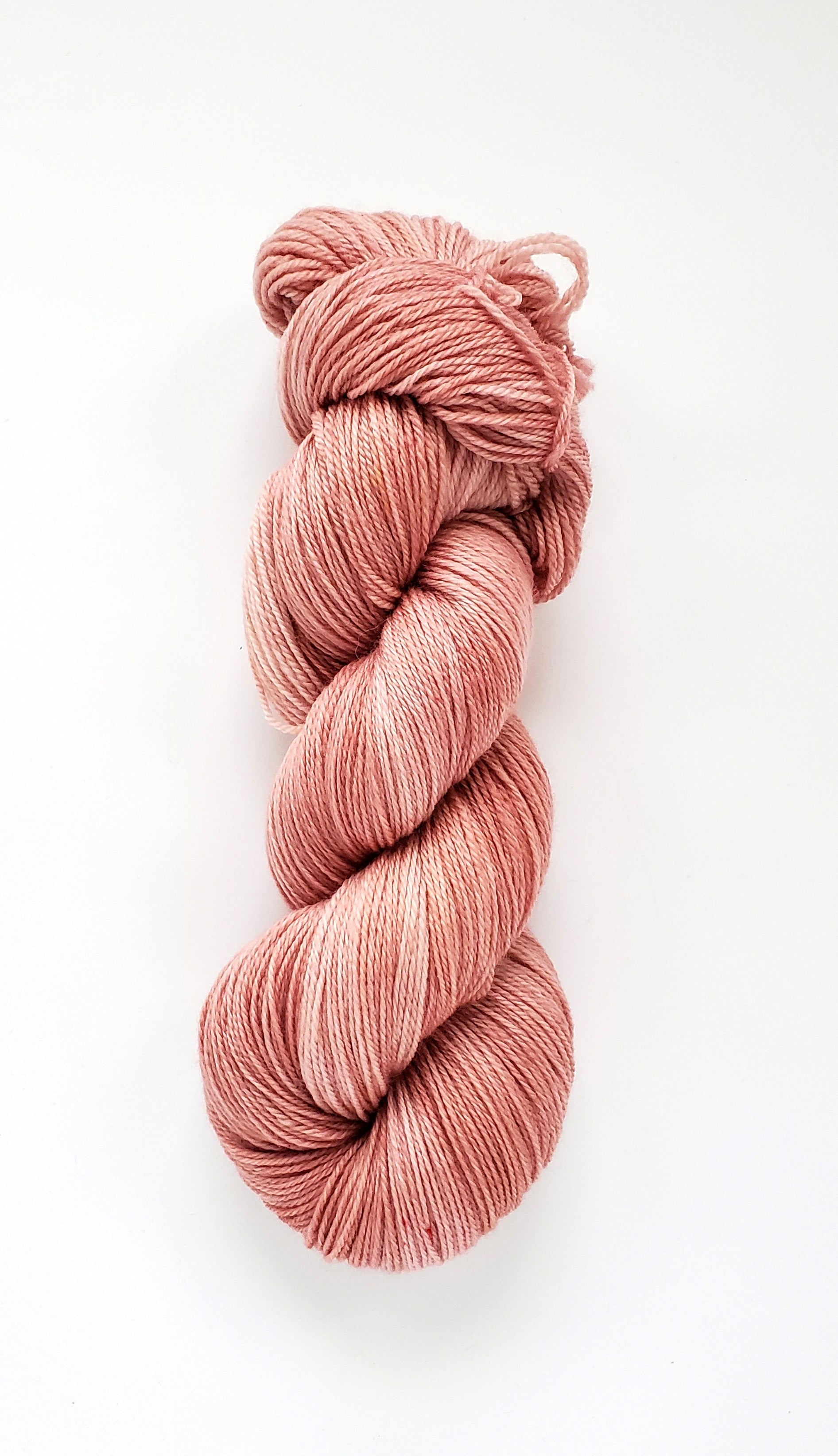 Sofia Hand Dyed Yarn Semi Solid Pale Pink