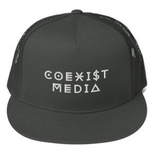 Coexist Media - Mesh Back Snapback