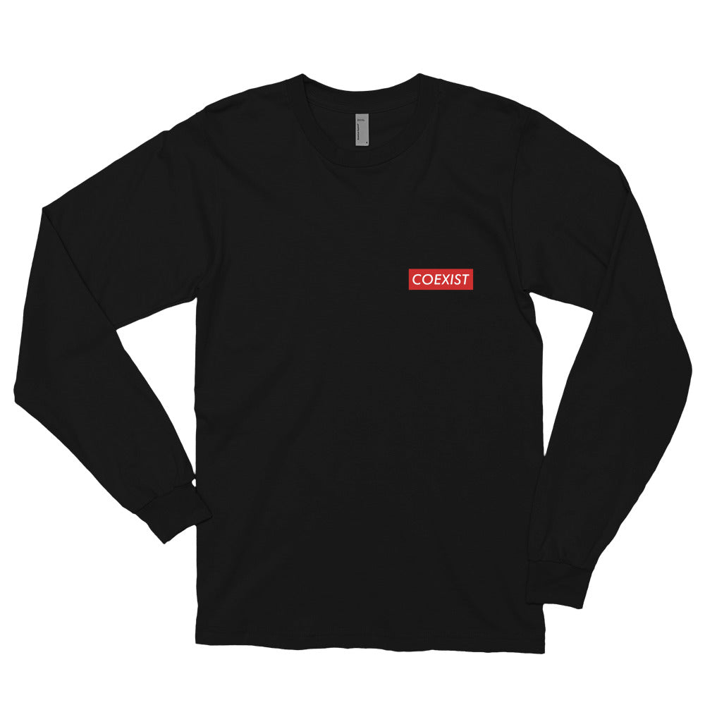 Coexist RED - Long sleeve t-shirt
