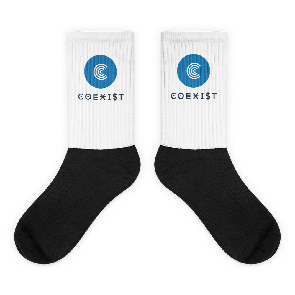 Coexist Socks