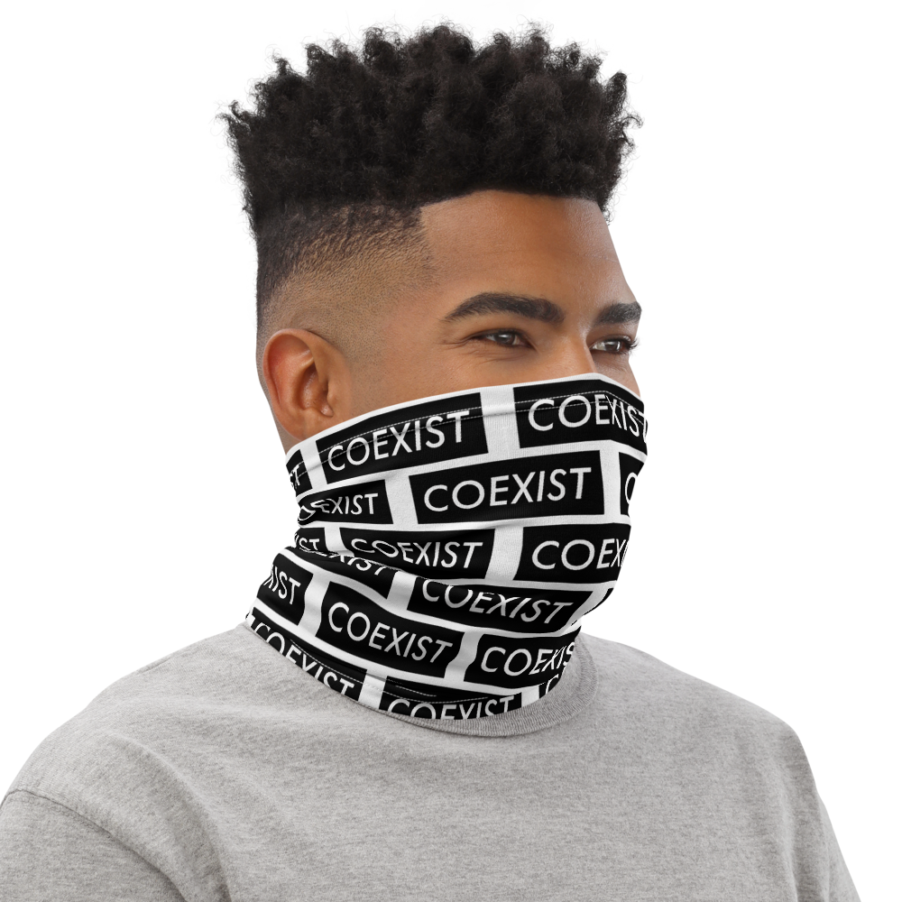 Coexist Media - Neck Gaiter - Black