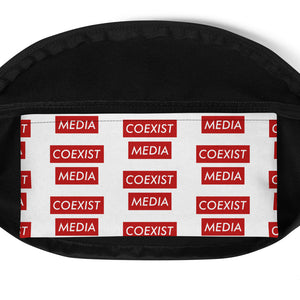 Coexist Media RED - Fanny Pack