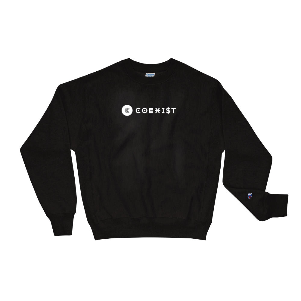 Coexist Champion Crewneck Sweatshirt