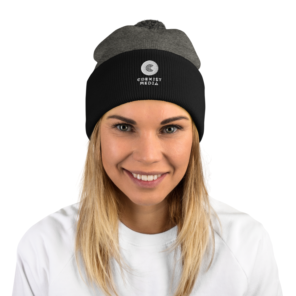 Coexist Media - Pom-Pom Beanie