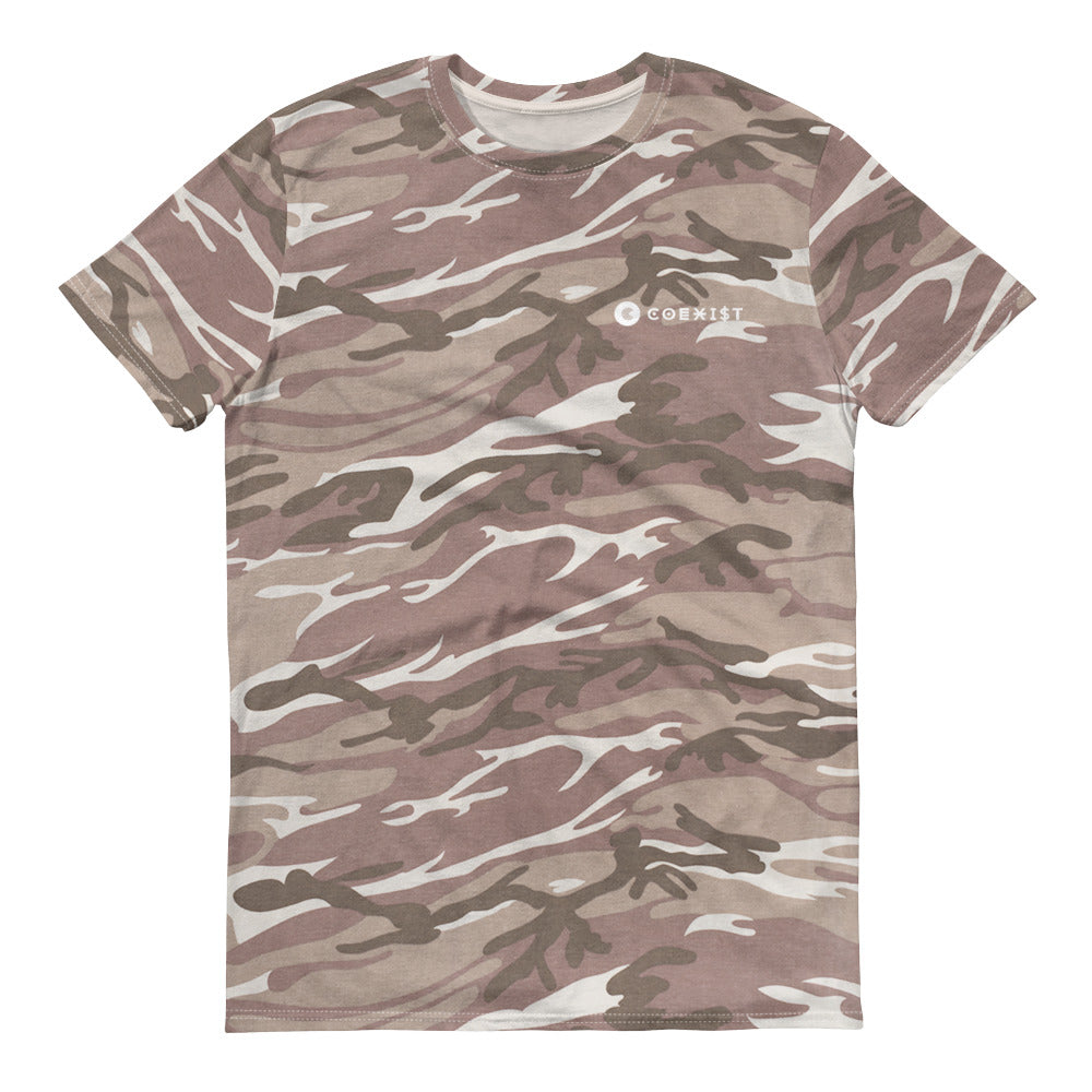 Coexist Camouflage T-Shirt