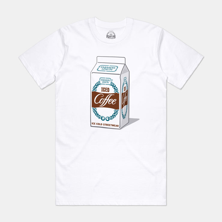 Mens Carton Tee - White
