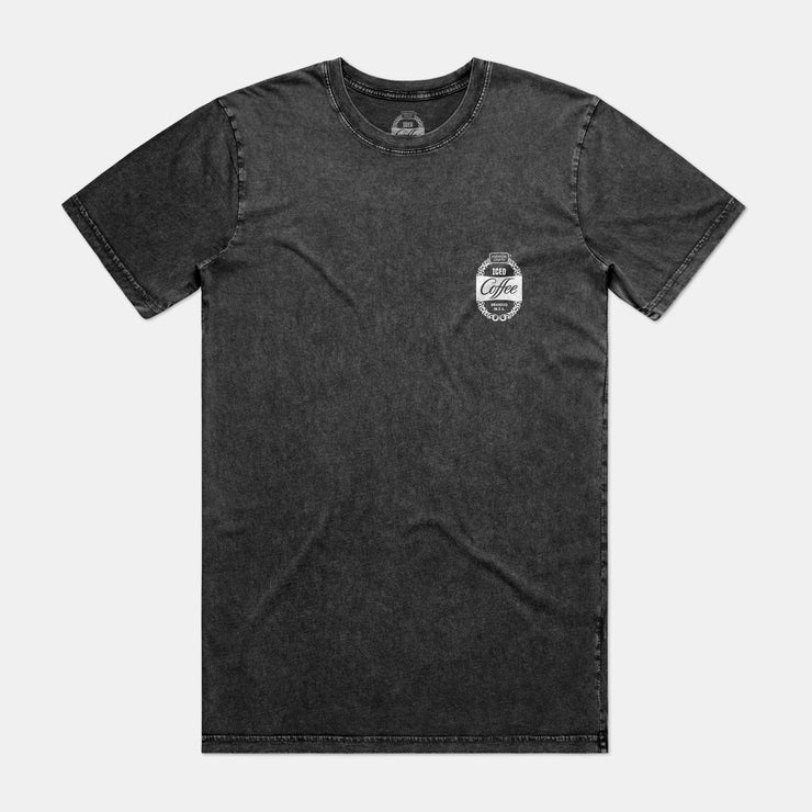 Mens Stonewash Tee - Black