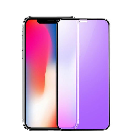 0.23mm 3D Curved Tempered Glass for iPhone X RONICAN Soft Edge High Definition Anti Blue Light