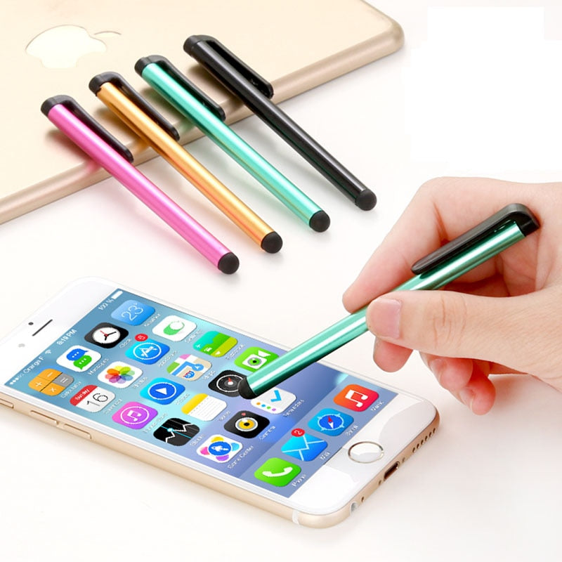 100 Pcs/lot Capacitive Touch Screen Stylus Pen for Samsung Galaxy Ipad Air Mini iPhone Android Phone