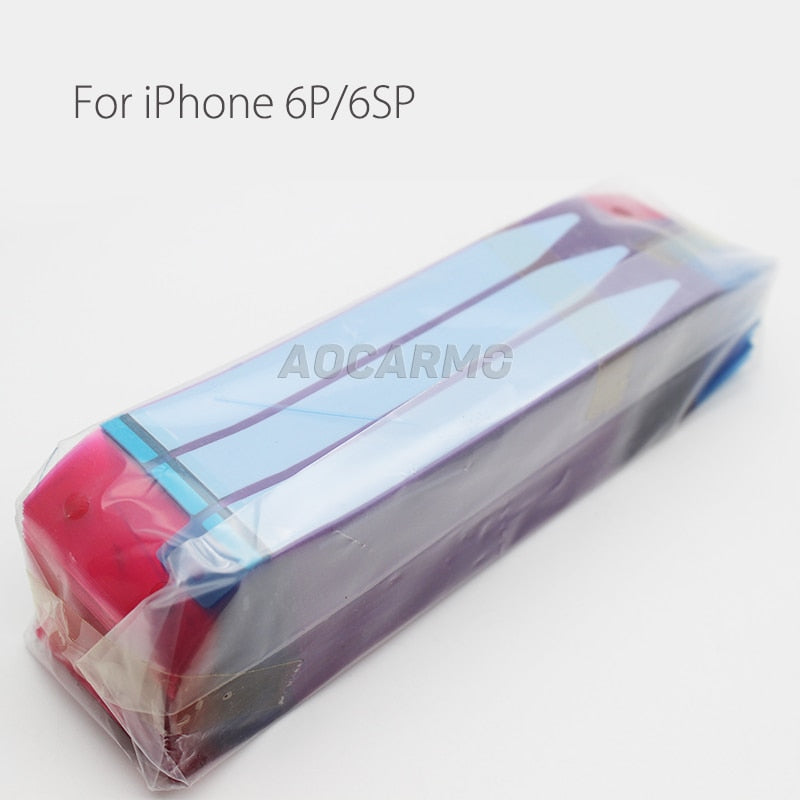 100Pcs/Lot Aocarmo Battery Adhesive Glue Tape Anti-Static Sticker Strip For iPhone