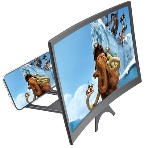 12 Inch Curved Mobile Phone Screen Magnifier New HD Mobile Phone Curved
