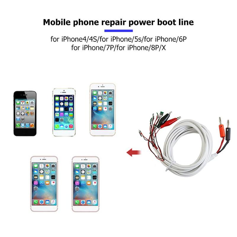 1pcs Boot Test Line Repair Tools Boot Test Line Phone Service DC Power Supply Current Testing
