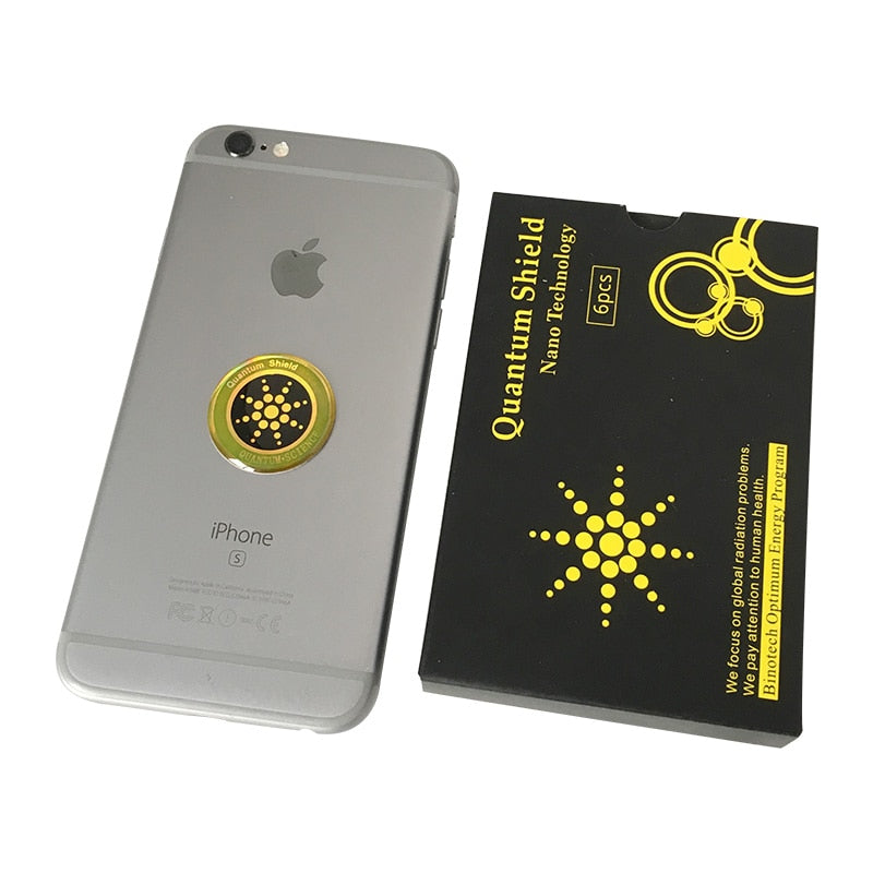 1pcs Quantum Shield Sticker Mobile Phone Sticker For Cell Phone Anti Radiation Protection from EMF