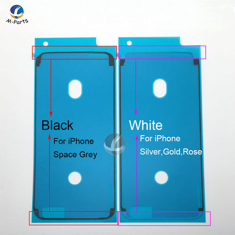 1pcs Waterproof Sticker For iPhone 6S Plus 7 Plus 8 Plus X XS XSM XR LCD Display Frame Bezel Seal