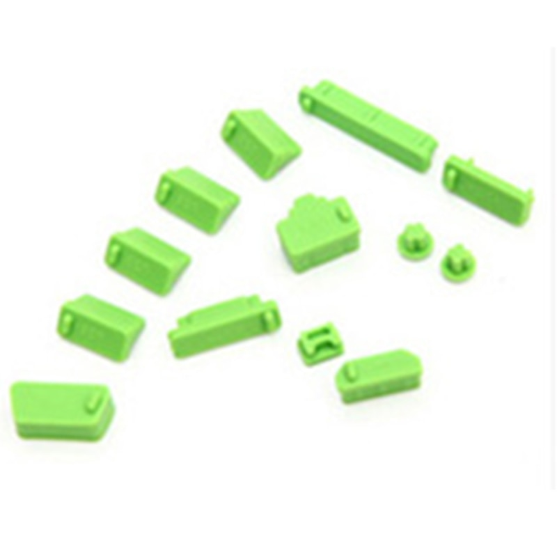 13Pcs/set Silicone Anti Dust Plug Cover Stopper Laptop dust plug laptop dustproof usb dust plug