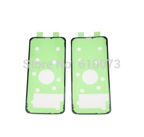 2PCS Ori Rear Housing Door Sticker Adhesive For Samsung Galaxy S10 Plus S9 S8+ S7 S6 Edge Plus