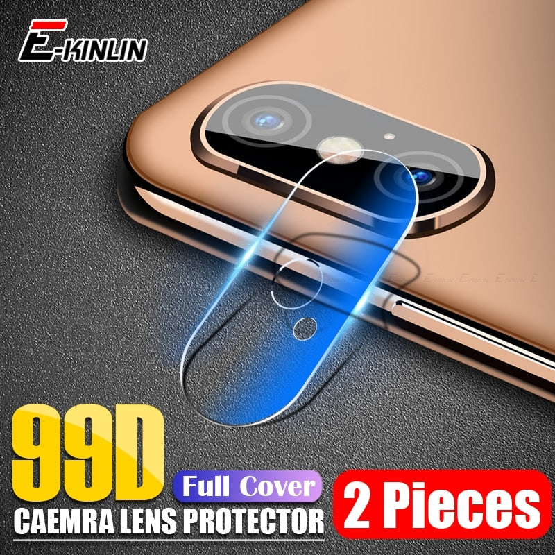 2pcs/lot Clear Back Camera Lens Screen Protector Protective Film Tempered Glass For iPhone XS Max